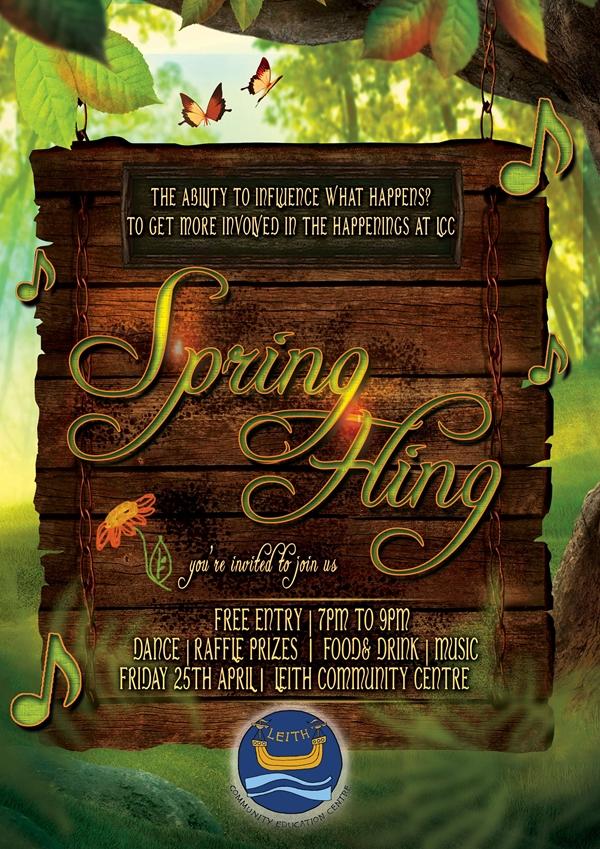 spring fling A4