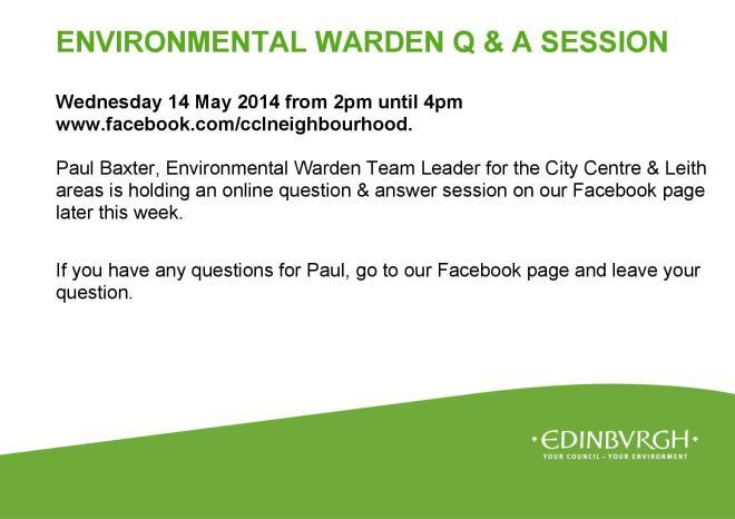 Environmental warden