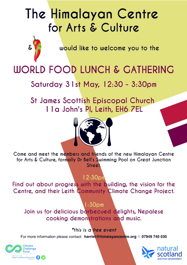 World Food Lunch and Gathering email version